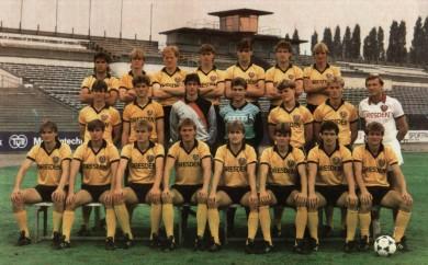 Mannschaftsbild Dynamo Dresden